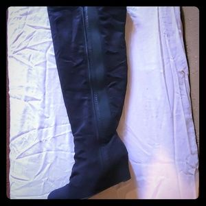 Size 10 Plus Size knee boots